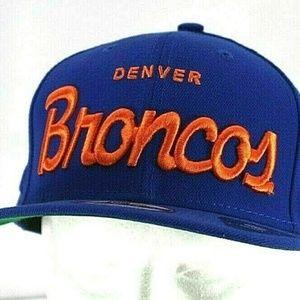 Denver Broncos Blue NFL  Baseball Cap Snapback